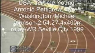 Track and Field World and Olympic records