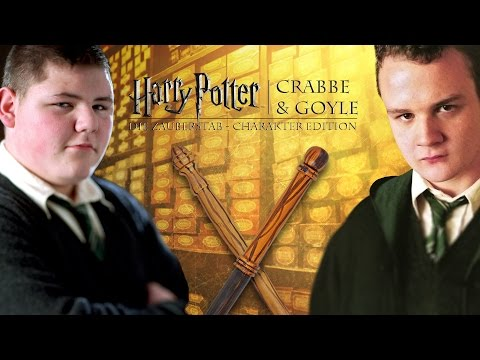 Harry Potter-Zauberstäbe: Crabbe & Goyle