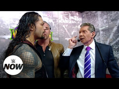 Roman Reigns and Brock Lesnar's Road to WrestleMania gets more volatile by the week: WWE Now