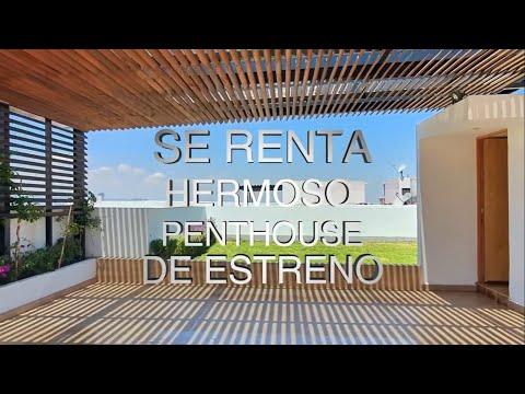 Penthouse en Renta, Torres Soho, Querétaro (I-00051)