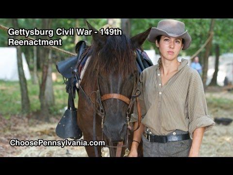 Gettysburg Civil War Reenactment