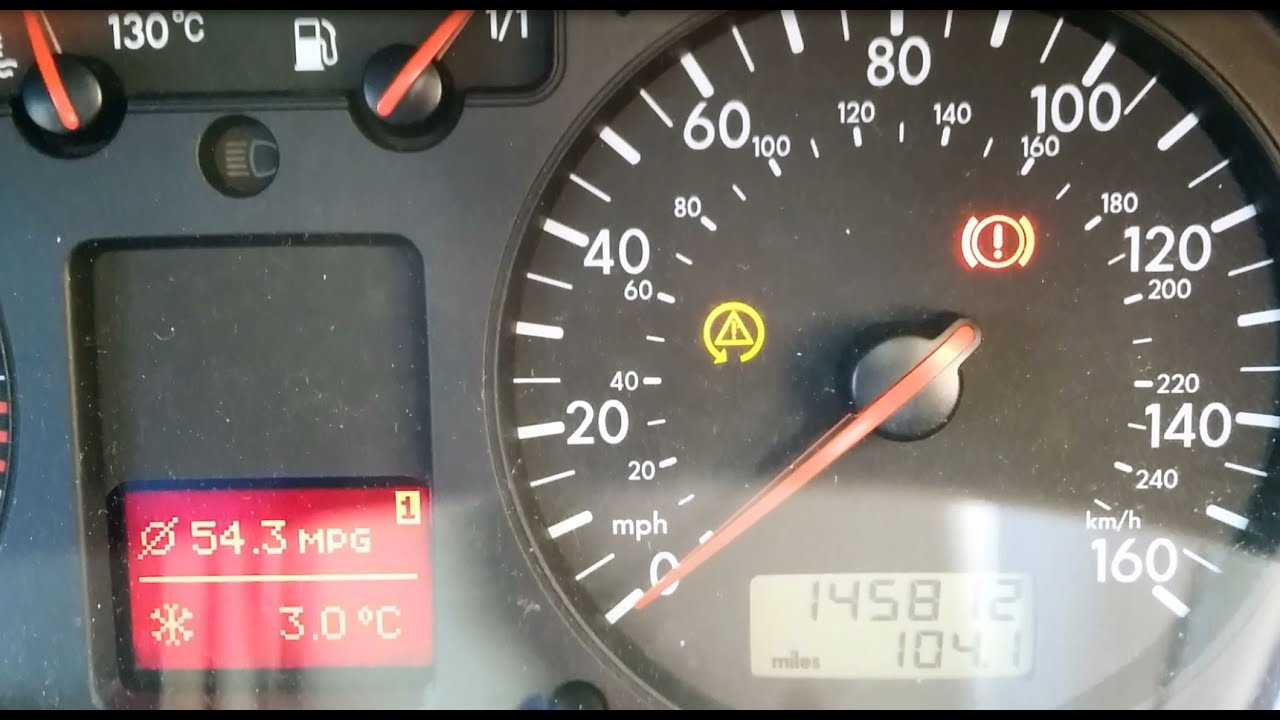 hight resolution of vw golf bora asr esp dashboard light comes on after 10 minutes driving how to fix repair