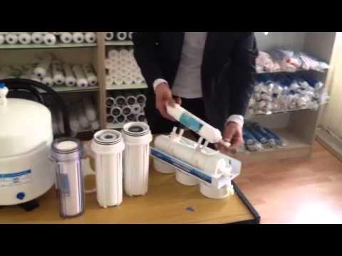 Atlas Su Arıtma Cihazı Filtre Değişimi Videolu Anlatım