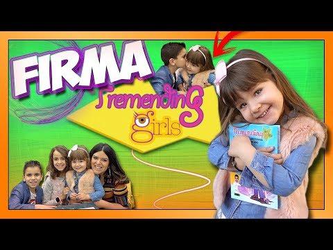 Goneryl Presa activación  FIRMA DE LIBRO TREMENDING GIRLS - WONDER LARA   Daniela Baby Pink - YouTube