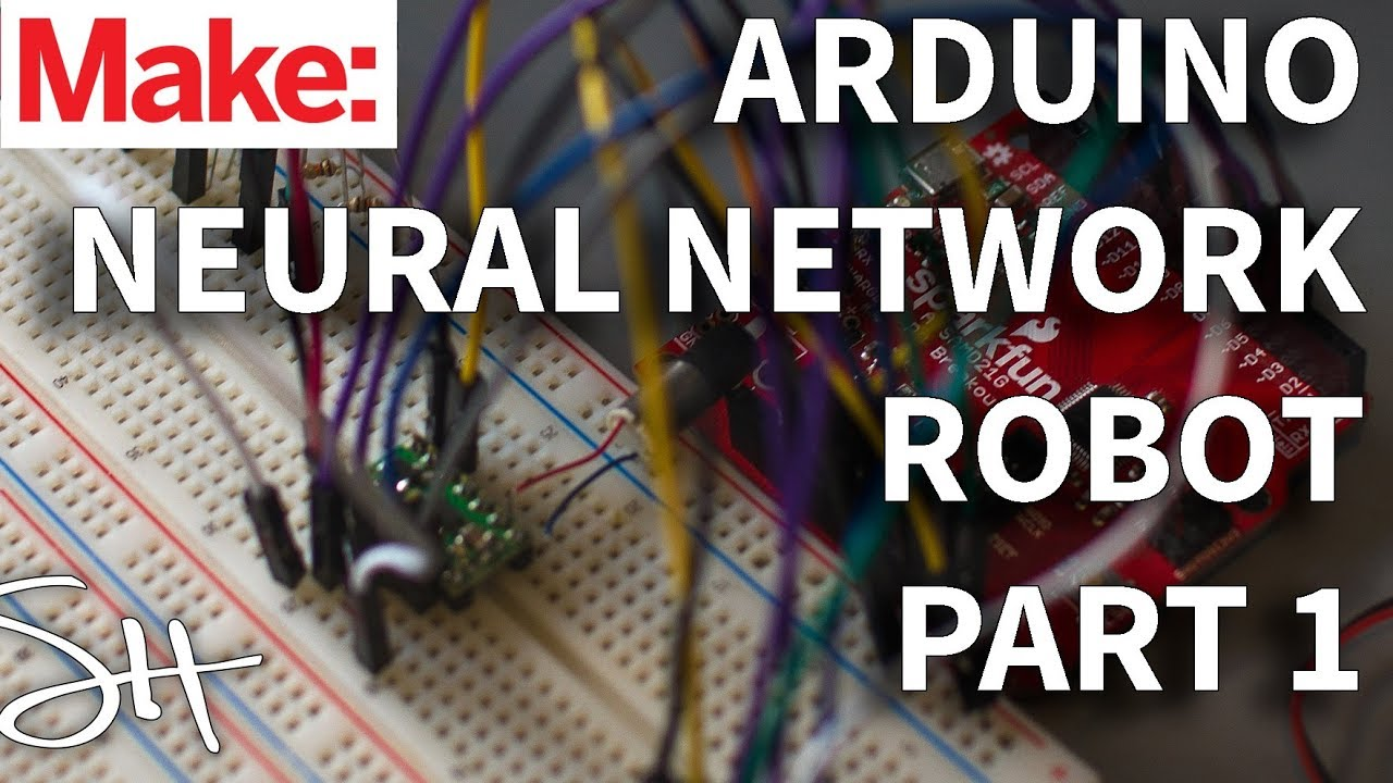 Arduino Neural Network Robot Part 1: Prototype and Design
