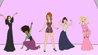 FAIRY TALE FRIDAY - THE SPICE GIRLS