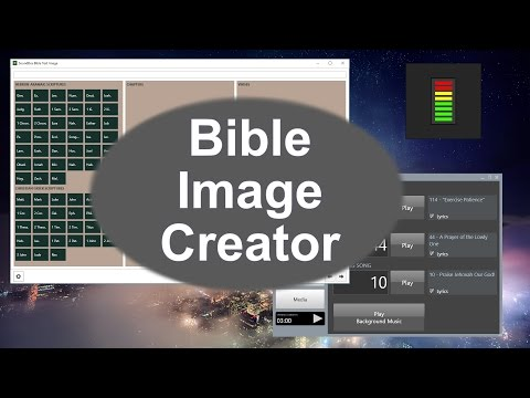 How to use the Bible Text Image Creator tool