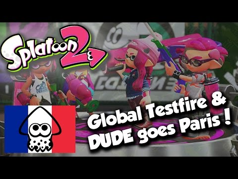 Splatoon 2 Demo details, DUDE flys to Paris for ESL Splatoon Lan!