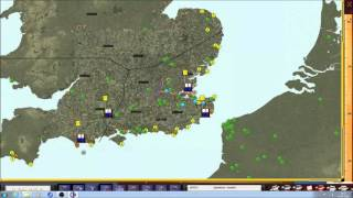 Battle of Britain II : WOV BDG 2.13 Day 1 of Convoy phase Commander Campaign