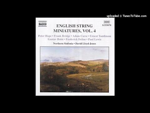 Gustav Holst : A Moorside Suite for string orchestra (1928)