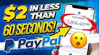 🔥 Get Paid $2 in 60 Seconds! No Website Needed. (FREE PayPal Money!)