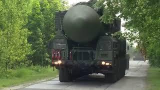 Учение стратегических ракетчиков в Иркутской области
