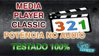 pOTNCIA NO AUDIO MEDIA PLAYER  CLASSIC HOME CINEMA 100