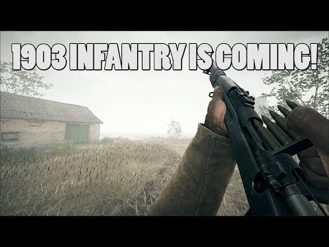 M1903 infantry and LIU bolt action are coming! - Battlefield 1