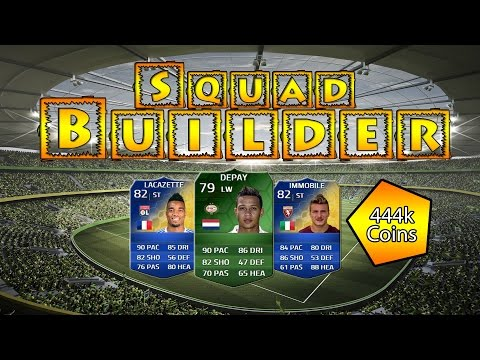 FIFA 14 | Ultimate Team | Perfect Link-Squadbuilder | Depay