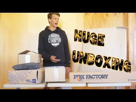 MTB & BMX Parts Unboxing