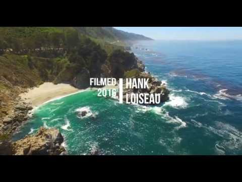 vultures view. drone footage of big sur central coast