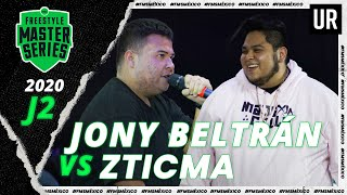 Jony Beltran vs Zticma   FMS Mexico 2020   Jornada 2   Urban Roosters