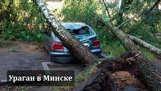 Ураган в Минске, даже торнадо