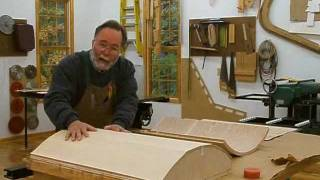Making A Veneered Executive Desk Part 2, Bent Substrates: Andrew Pitts~ Furnituremaker