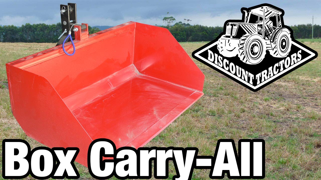 Tractor Carry All Box : Discount tractors tipper carry all with quick release