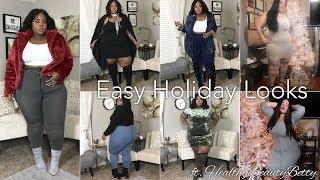 Easy To Achieve Holiday Lookbook   Semi-Casual   ft. HealthyBeautyBetty (Betty Perez)