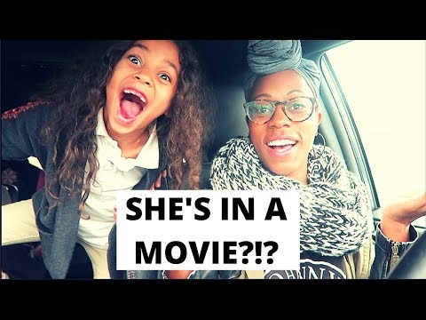 SHE'S IN A MOVIE ?!?  | Britt's Space | Vlog