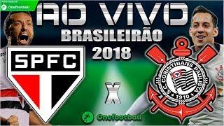 So Paulo x Corinthians Ao Vivo HD Brasileiro 2018 Parciais Cartola FC 21072018