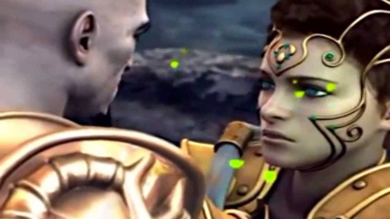 God Of War 2- A Morte de Athena Lamento de Seiya - YouTube