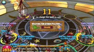 "Wizard101-Third boss in the ""Test of the Spheres"""