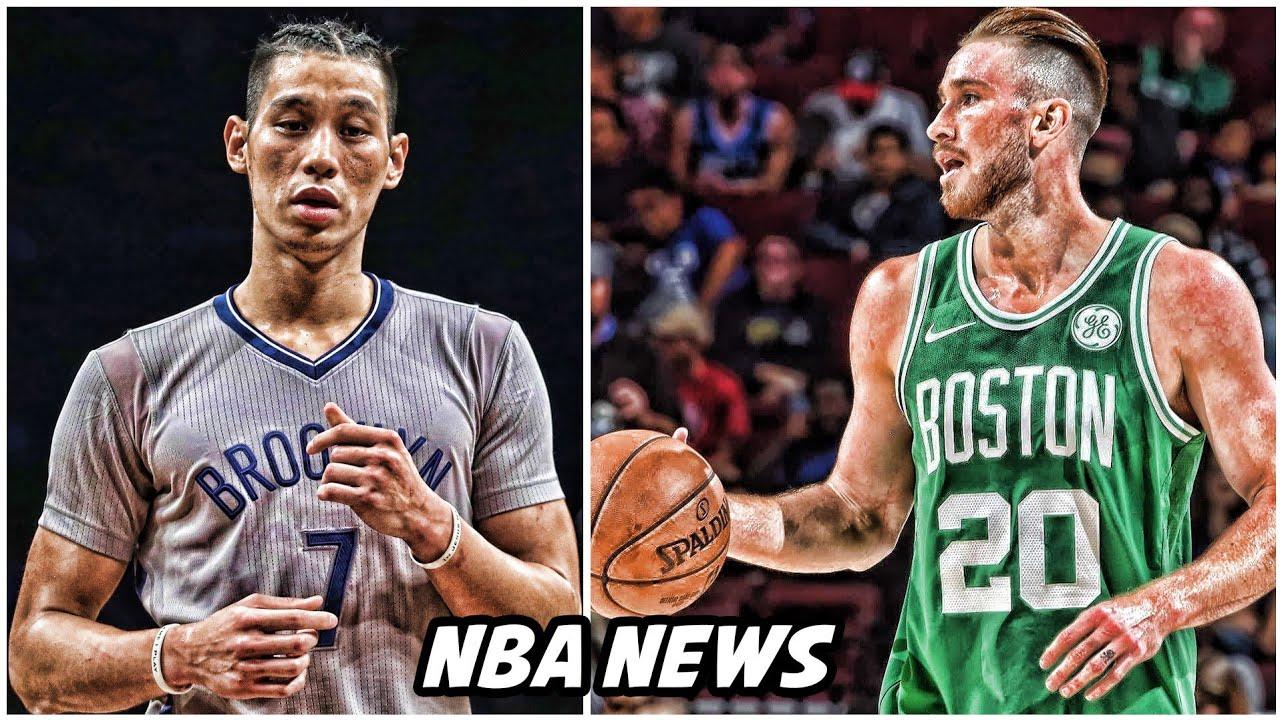 GORDON HAYWARD UPDATE • JEREMY LIN OUT FOR SEASON   NBA ...