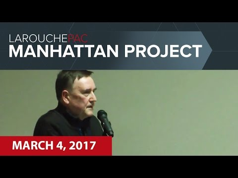 Manhattan Town Hall event with Kesha Rogers and John Sigerson