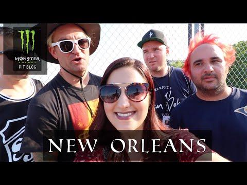 2016 Monster Energy Pit Blog: New Orleans