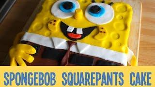 How to make a SpongeBob SquarePants Cake (AD)