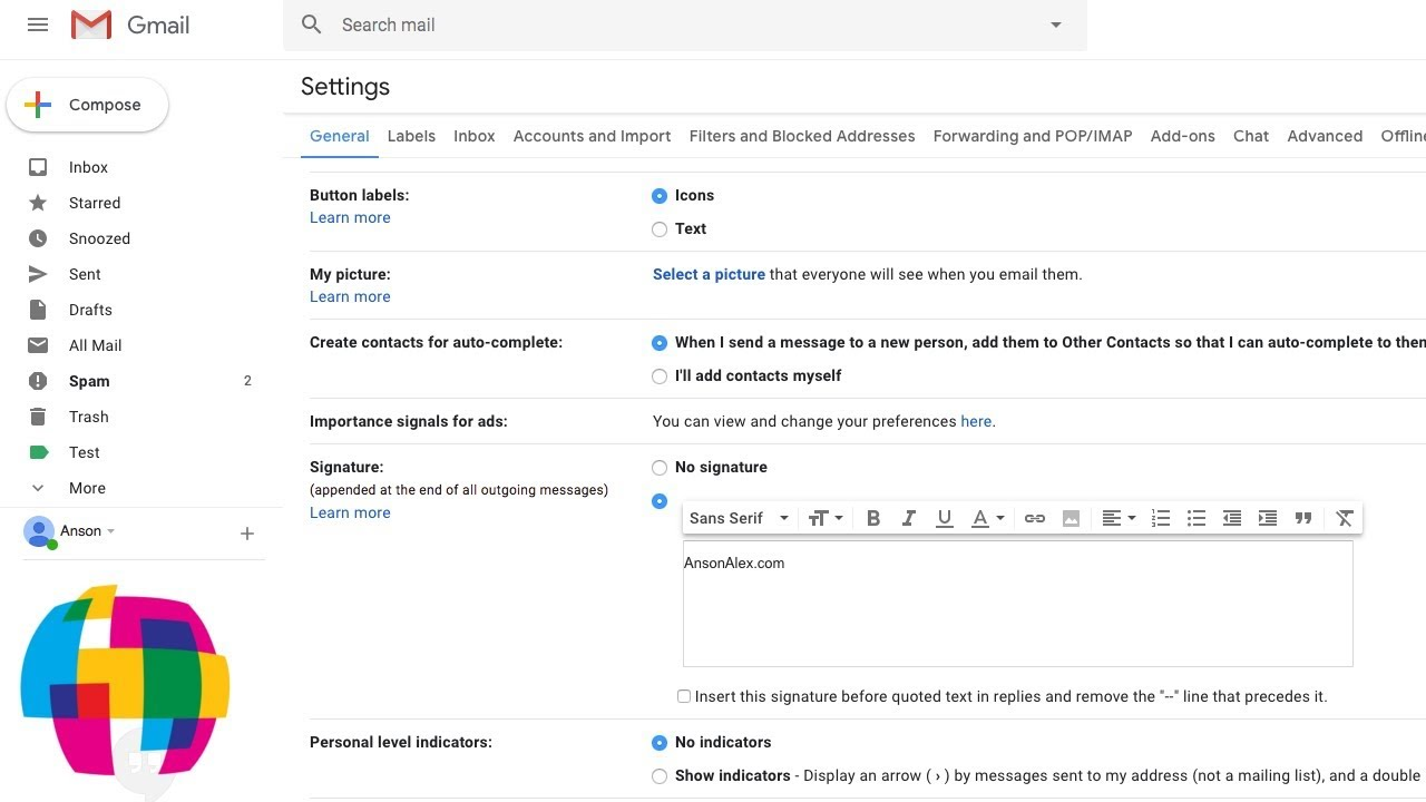 edit contacts in gmail 2019
