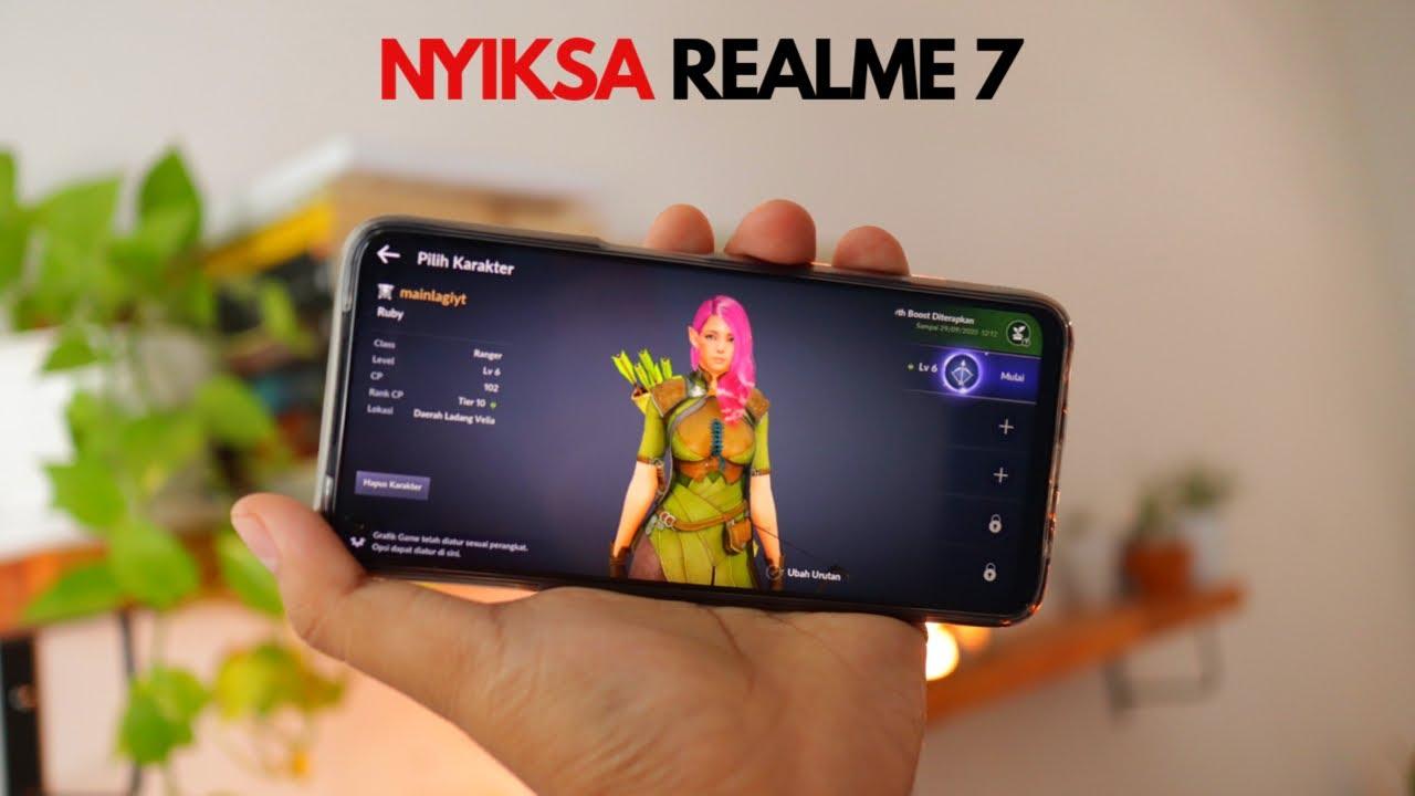 Realme Terbaik di 2020! - Nyiksa Realme 7 Gaming Test