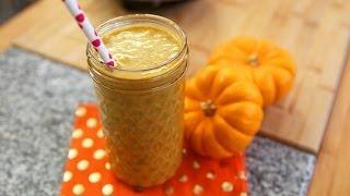 Healthy Pumpkin Pie Smoothie Recipe | Protein Shake | Recipe Remix