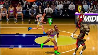 NBA Hangtime 4 Player Action (Arcade) Part 1