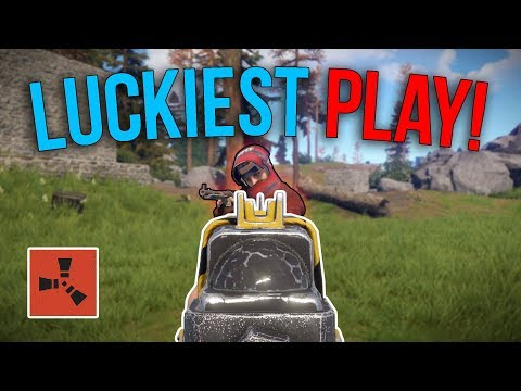MY LUCKIEST FROM BOW TO FULLY GEARED! | Rust Solo Survival S4 | #6