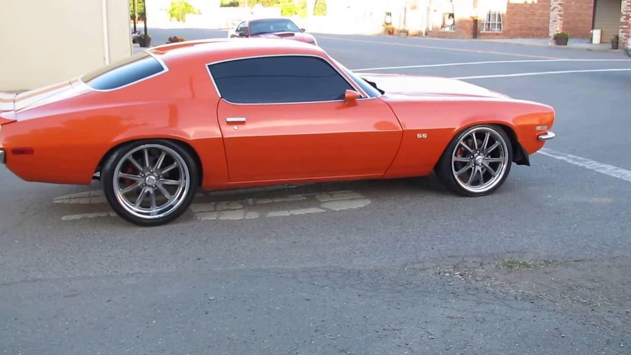 1970 Pro Touring Ls3 Ls2 House Of Kolor Split Bumper Camaro For Sale Or Trade Youtube