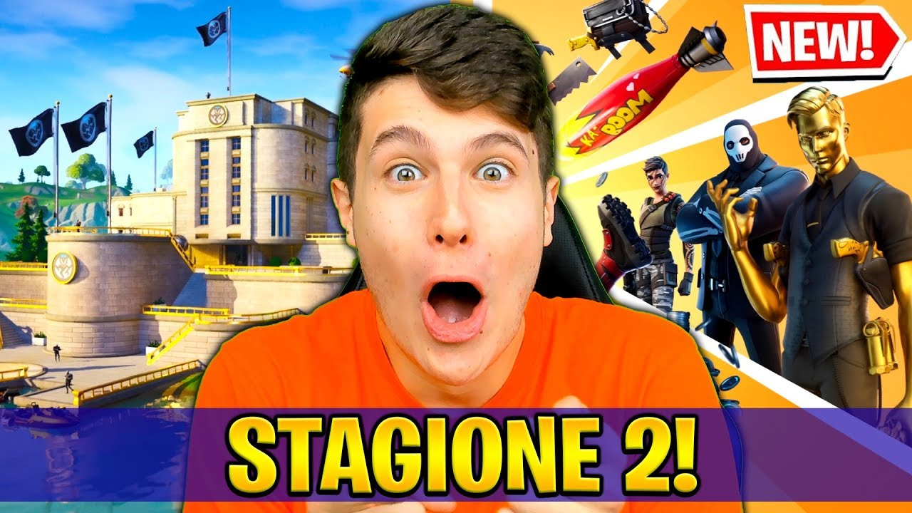 Download LA NUOVA MAPPA E IL NUOVO PASS BATTAGLIA STAGIONE 2!! REAZIONE FORTNITE *Non ci credo*😱