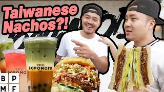 Asian YOUTUBER Makes The BEST BOBA in LA! (Wong Fu's Cafe!) - Fung Bros