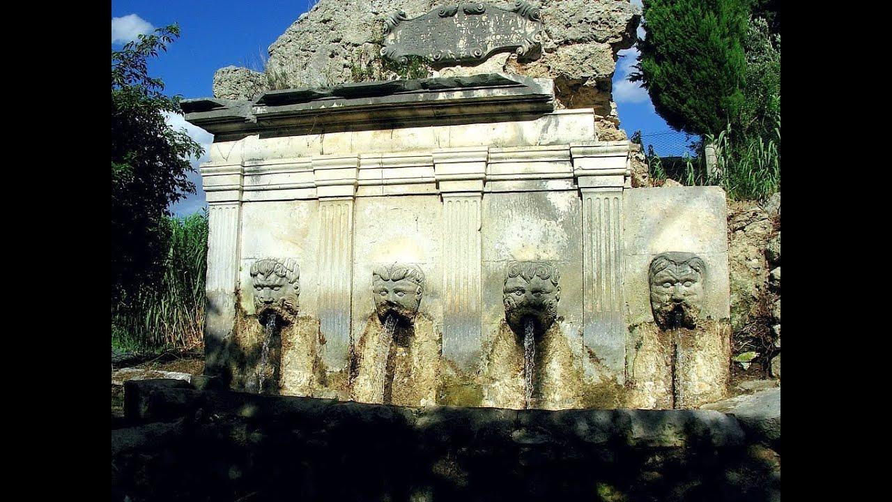 le antiche fontane di tocco da casauria youtube