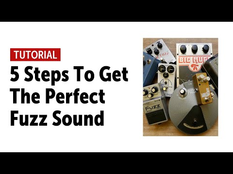 5 Steps To Get The Perfect Fuzz Sound (no talking)