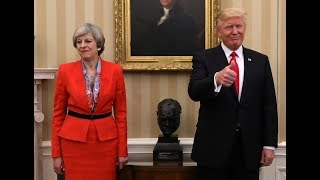 President Donald Trump Sticks it to UK Prime Minister Theresa May regarding decision on Iran Deal