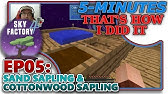 SKYFACTORY 4] EP02- DIRT BLOCK, PETRIFIED SAPLING & CRUSHING TUB