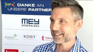 Ausblick auf Mey Generalbau Triathlon 2019 in Tübingen