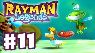 Rayman Legends - Gameplay Walkthrough Part 11 - What the Duck!? (PS3, Wii U, Xbox 360, PC)