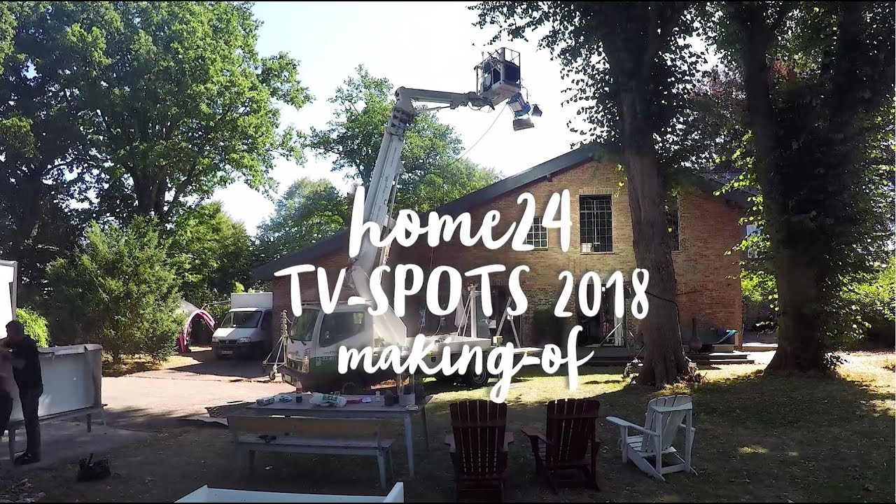 Home24 Werbespot 2018 Making Of Youtube