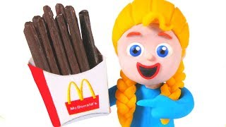 New Chocolate French Fries ❤ Cartoons For Kids